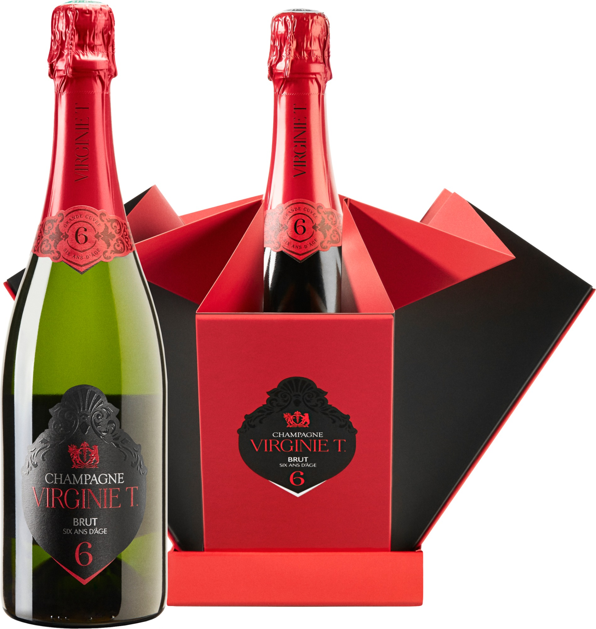 Grande Cuvée 6 ans mit Ice Bucket Champagne AOC